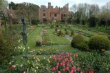 A view of Chenies Manor House and Garden