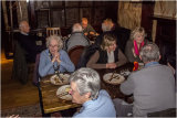 Pat Saxby & Doreen Kingaby, Marilyn Redshaw & Sandra Hume seem to have enjoyed their pie lunches!