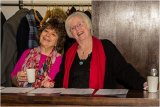 Janet & Jeanette - the Happy Cloakpersons!