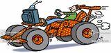 transport-car-race-armchair-couch potato-racing fan-enan48 low