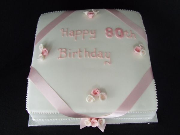 MacDonald Cake Company 80th Birthday