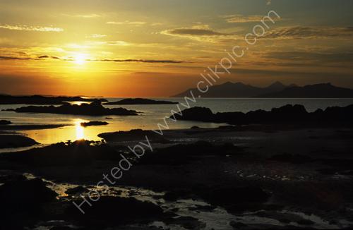 Sunset, Small Isles