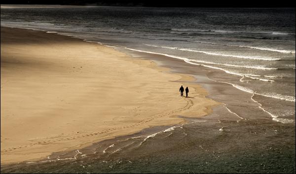 Beach, River Naver mouth