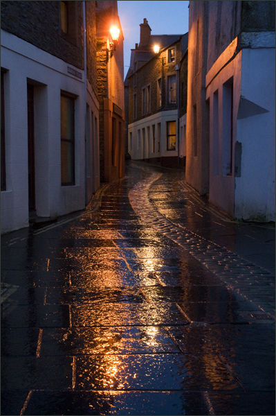 Wet Evening, Stromness