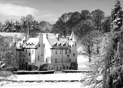 Winter, Cortachy Castle