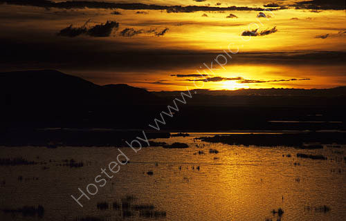 Sunrise, Lake Titicaca