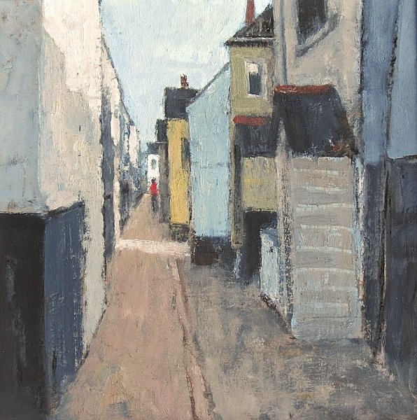Bailey's Lane, St.Ives       Oil       270mm x 270mm