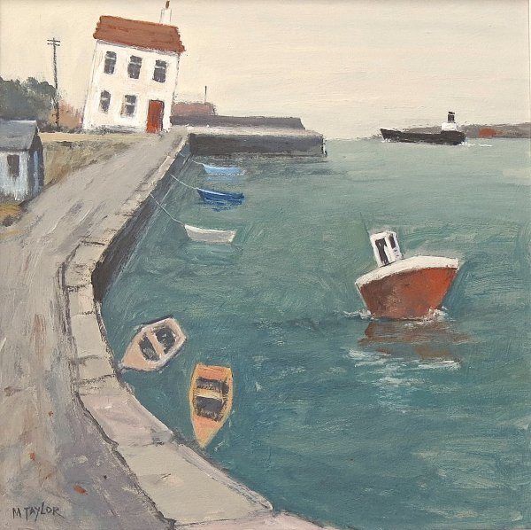 Harbourmaster's House II      Acrylic       450mm x 450mm