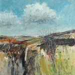 Clouds Over Parbold       Mixed Media       405mm x 405mm