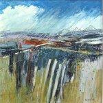 Cornish Landscape       Mixed Media       450mm x 450mm