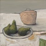 Three Pears       Acrylic       380mm x 380mm