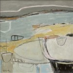Waiting For The Tide       Mixed Media       450mm x 450mm