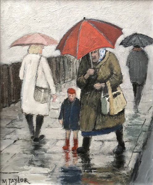 Shopping With Grandma       Acrylic       300mm x 250mm