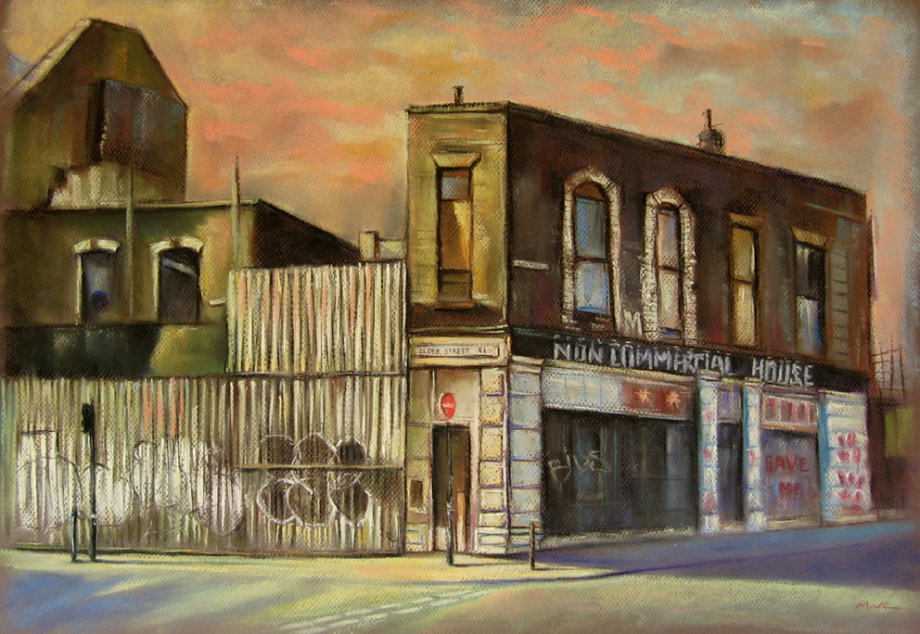 Elder Street, Spitalfields.