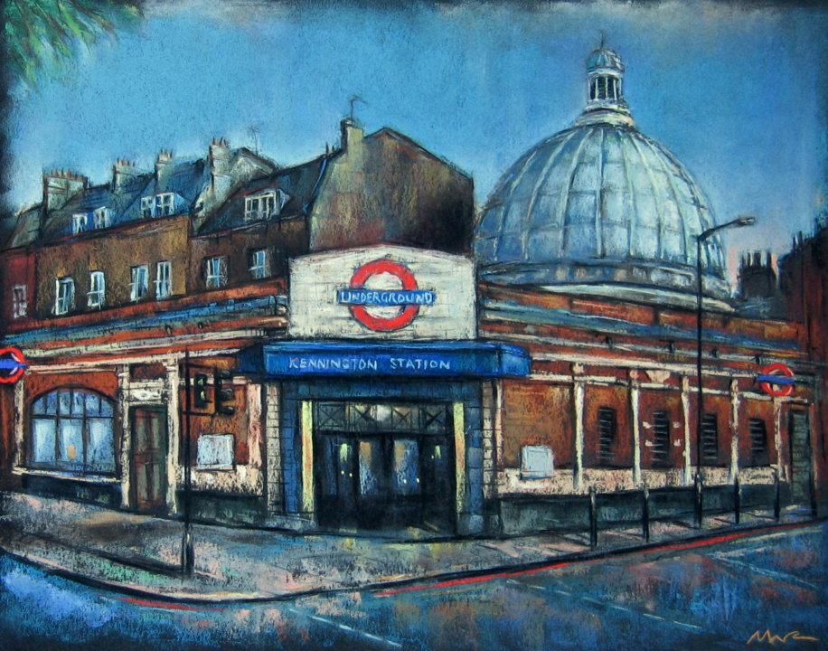 Kennington Station.
