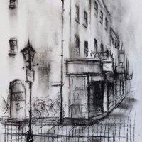 Handbags & Gladrags - Original sketch