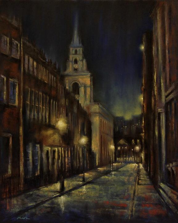 Winter Night, Spitalfields