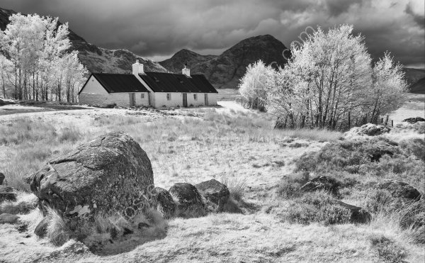 Blackrock Cottage in infra red