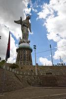 Virgin Mary on Panecello Quito