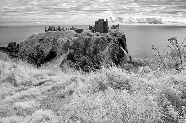 Dunottar Castle ( infra red )