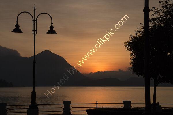 Italian Lake Sunrise