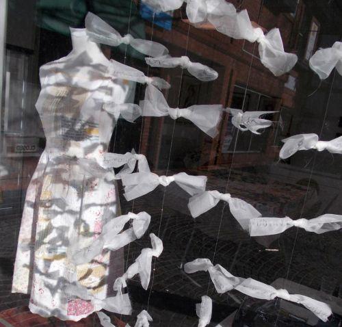 Artwork in the window