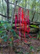 Textile Hangings - deconstruction