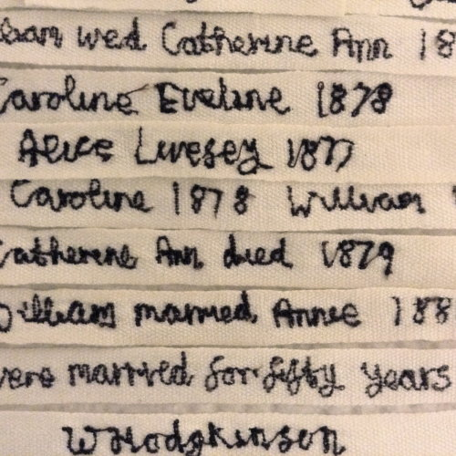 Hodgkinson's project Labels