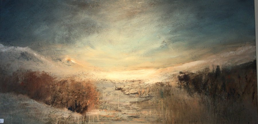 Morning Light on Rannoch Moor