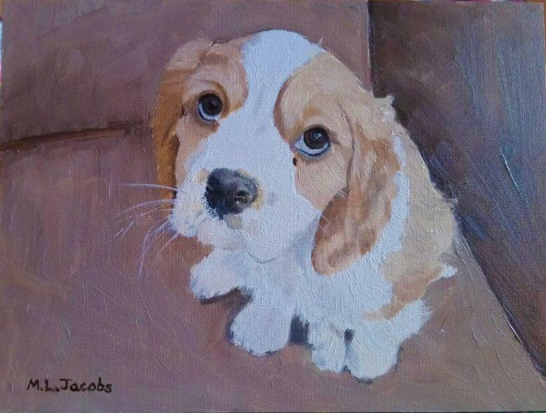 Dog Portrait (Pippin)
