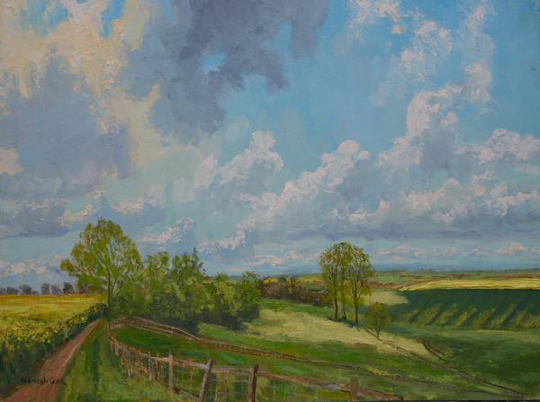 View near Preston, Rutland