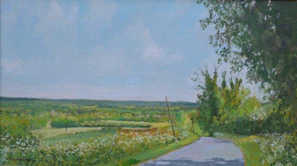 Towards Lyddington