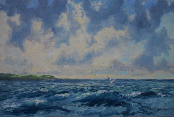 Off the Cornish Coast
