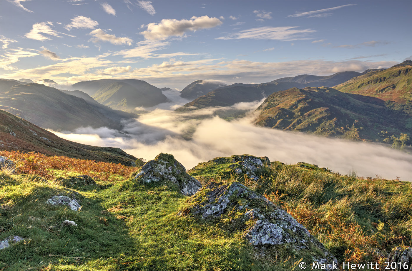 Above The Clouds (Cloud Inversion From Place Fell)