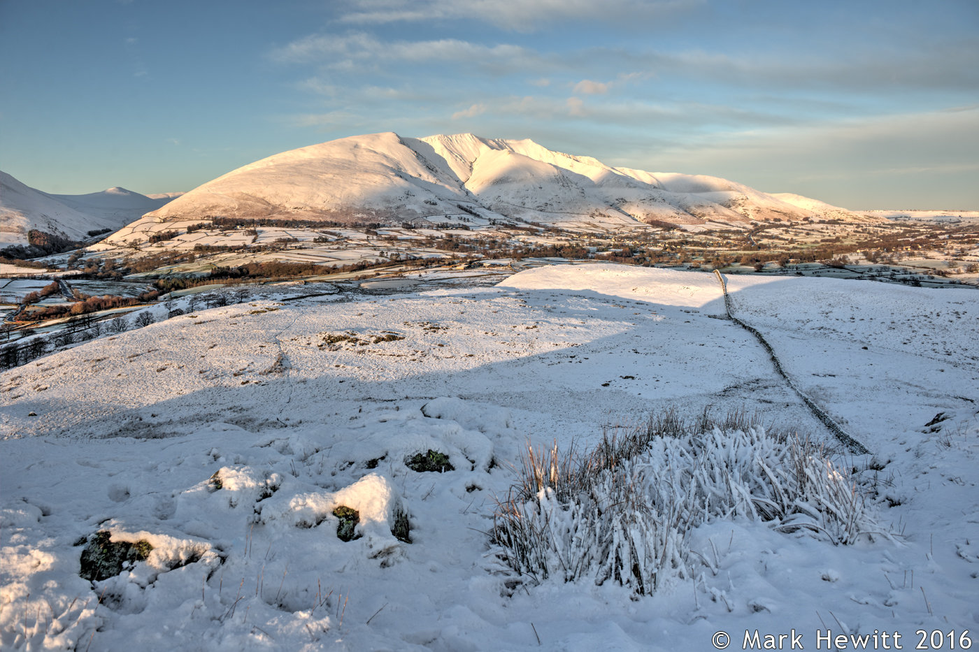 Blencathra From Low Rigg