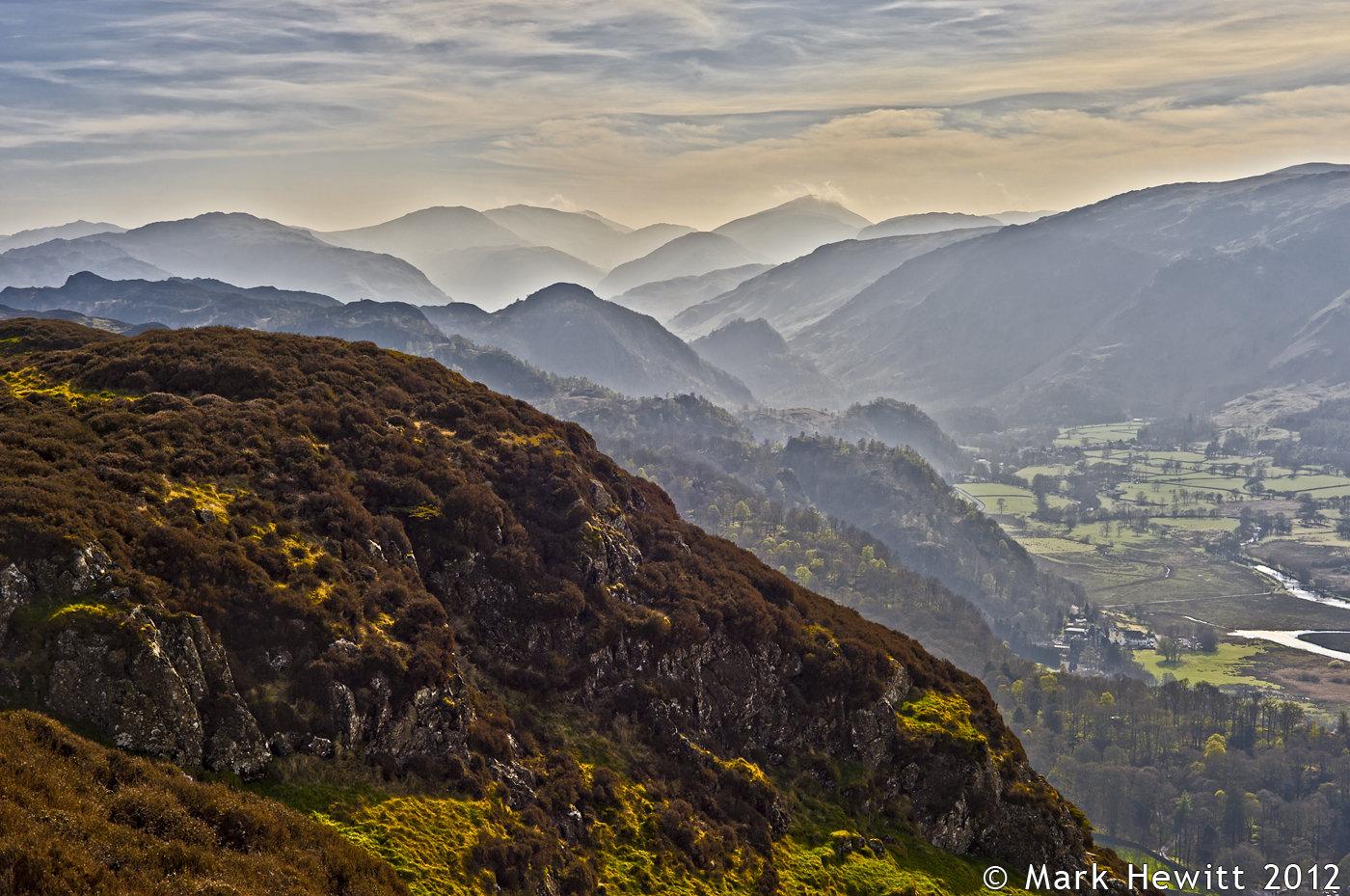 Borrowdale From Falcon Crag