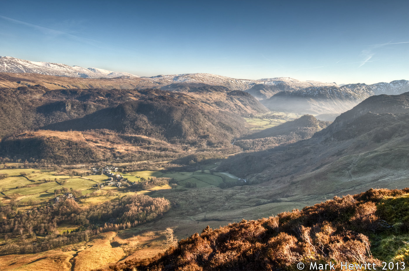 Borrowdale From Maiden Moor