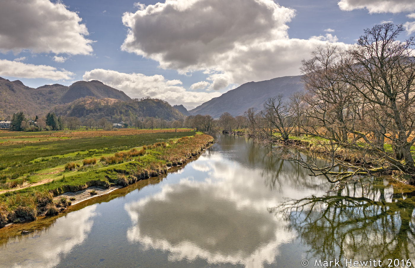 Borrowdale From The Chinese Bridge