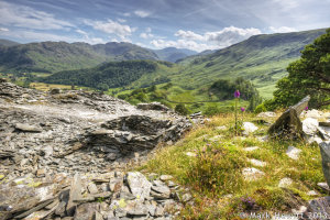 Borrowdale Valley Viewpoint