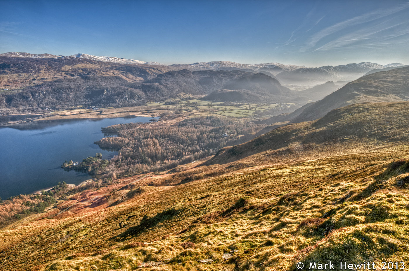 Borrowdale Viewpoint From Catbells