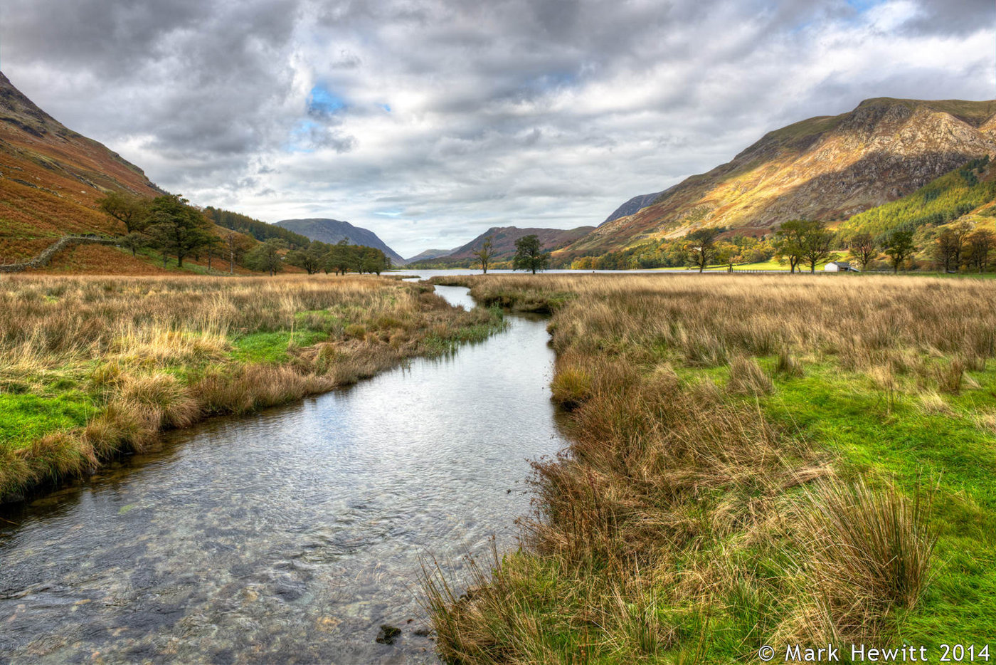 Buttermere From Peggy's Bridge