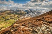 Catbells & Newlands Valley From Barrow Fell