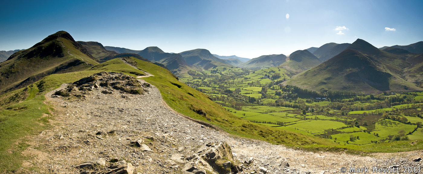 Catbells & Newlands Valley From Skelgill Bank