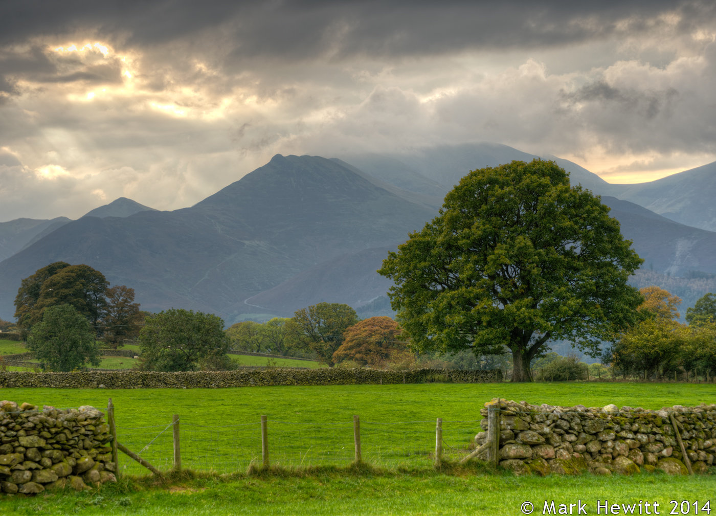 Causey Pike From Castlerigg