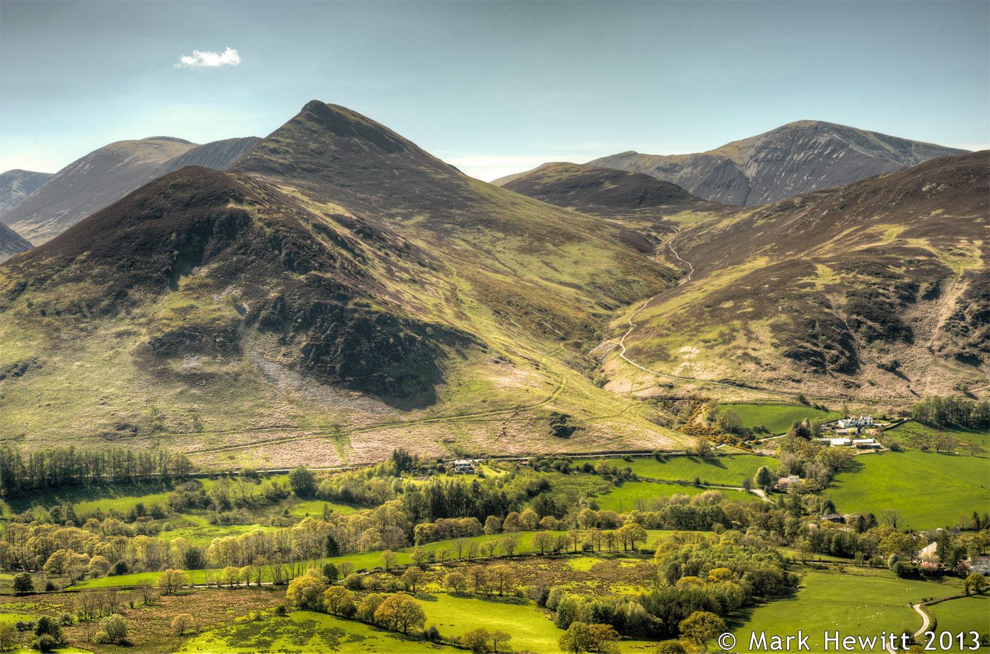 Causey Pike & Barrow Fell From Skelgill Bank