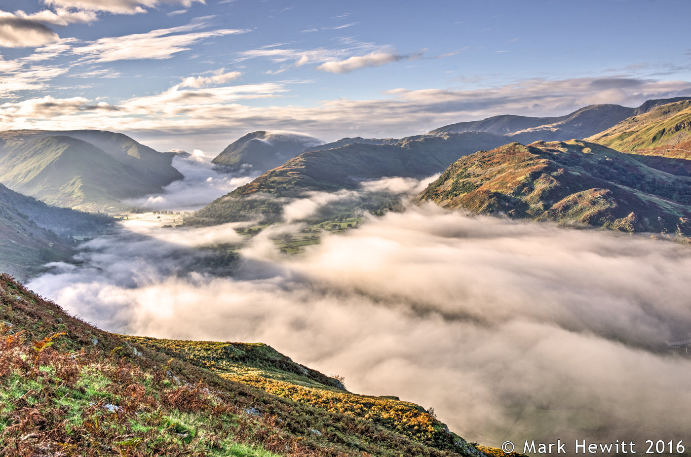 Cloud Inversion At Place Fell