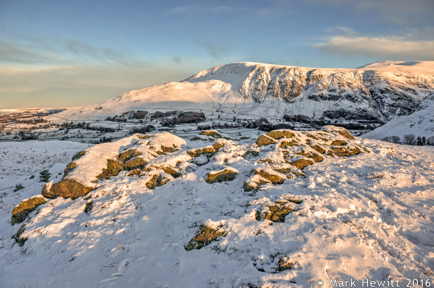 Clough Head From Low Rigg
