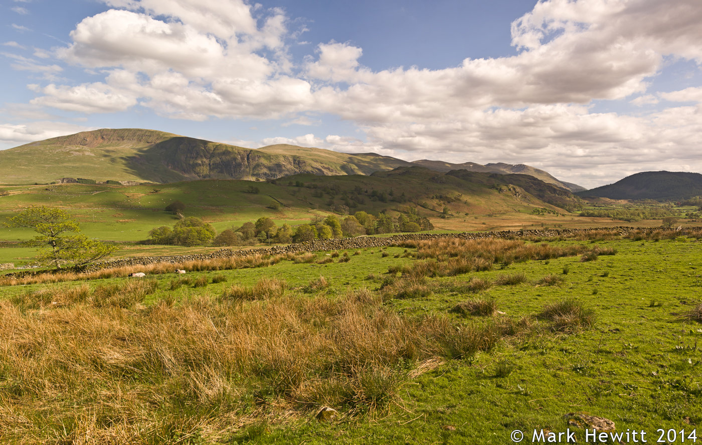 Clough Head & High Rigg From Goosewell Farm