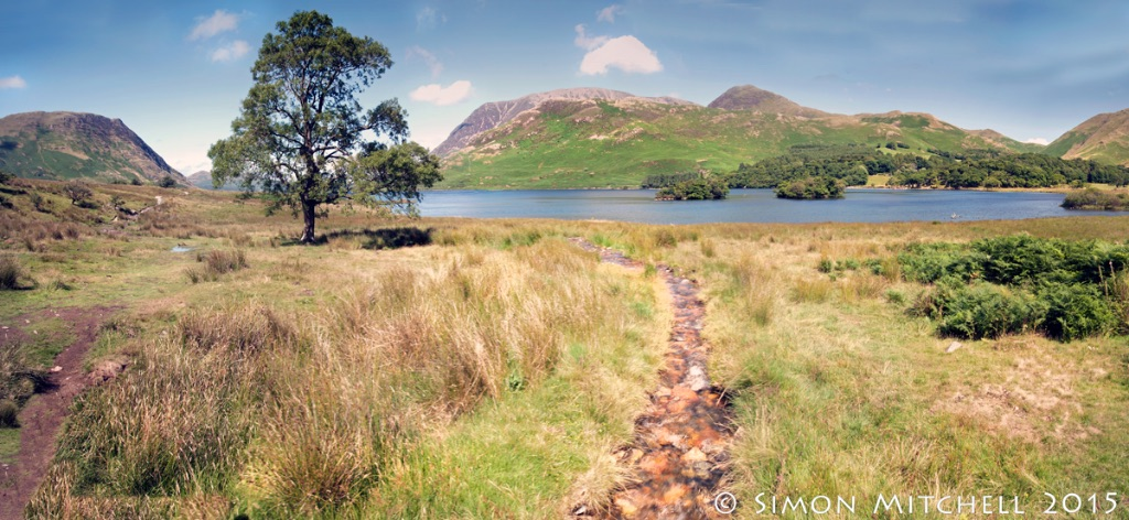 Crummock Water Panorama
