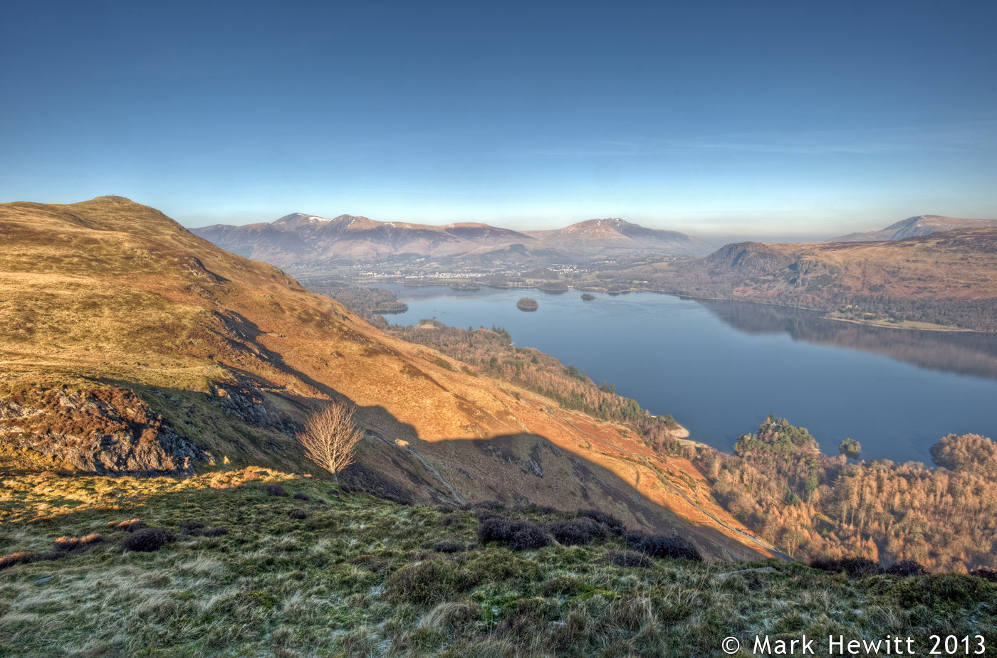 Derwentwater From Maiden Moor